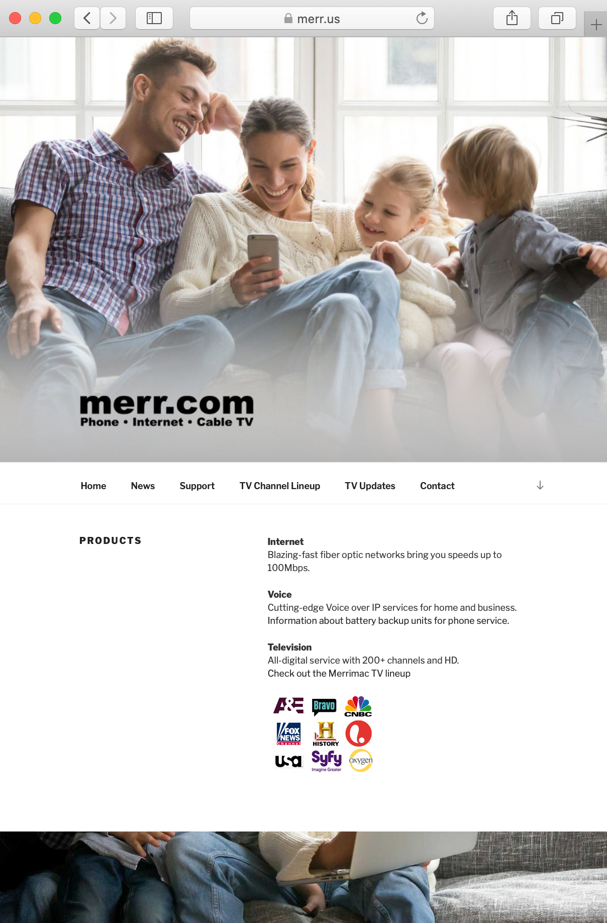 New Site for Merr