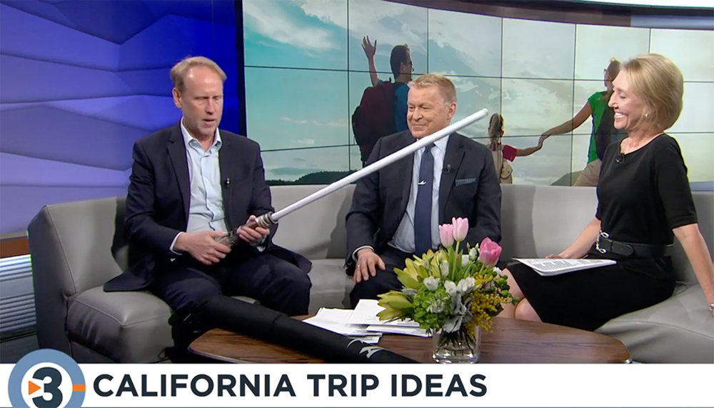 California Trip Ideas on Travel Tuesday Christopher Parr on Live at 4 CBS